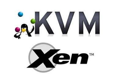 Xen-KVM-Logos